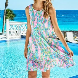 Lilly Pulitzer Kristen Flounce Dress NWT